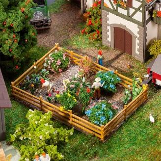 Fleurs et Buissons pour Jardin-HO 1/87-FALLER 181276