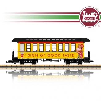 Voiture voyageurs Coca Cola Ep III train de jardin-G 1/22.5-LGB 30812