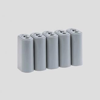 Jeu de 5 piliers de pont 40 mm de haut - Z 1/220 - MARKLIN 8979