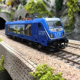 Locomotive BR 187 LTE Ep VI -HO 1/87- PIKO 51578