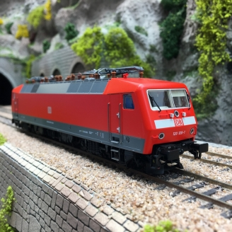 Locomotive 91 80 6 120 120-1 DB Ep VI-HO 1/87-LSMODELS 16085