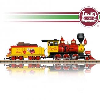 Locomotive Coca-Cola Mogul Ep III train de jardin-G 1/22.5-LGB 20282