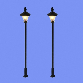 2 lampadaires classiques-N 1/160-MABAR 60202N