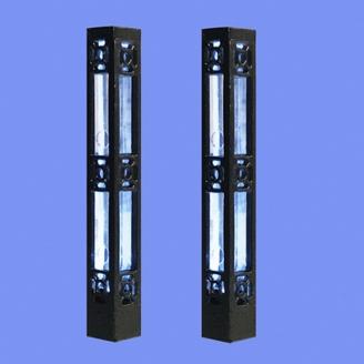 2 colonnes d'éclairage-HO-1/87-MABAR 60207HO