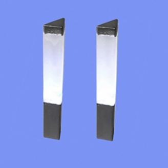 2 lampadaires d'avenue-HO 1/87-MABAR 60206HO