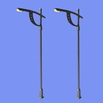 2 lampadaires modernes-N 1/160-MABAR 60201N