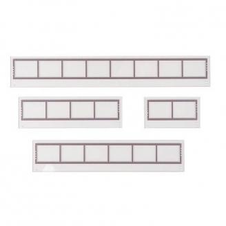 Set d'éléments pour Fenêtres / Verrières - HO 1/87 - FALLER 180894