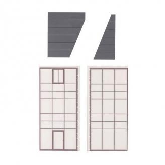 Set d'éléments d'angles pour Fenêtres / Verrières - HO 1/87 - FALLER 180895