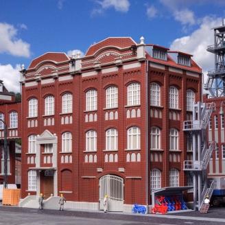 Bâtiment administratif Minier avec atelier-HO 1/87-KIBRI 39848