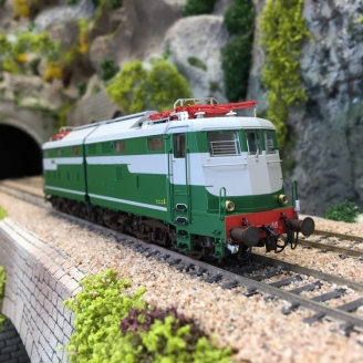Locomotive E 646019 Ep III FS-HO 1/87-RIVAROSSI HR2740