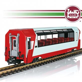 Voiture panoramique RhB 1CL Ep VI train de jardin-G 1/22.5-LGB 33666