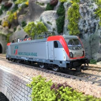 Locomotive BR 494 Mercitalia FS Ep VI-HO 1/87- PIKO 51590
