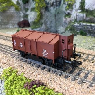 Wagon nettoyeur type K15 Ep III DB-HO 1/87-TRIX 24050
