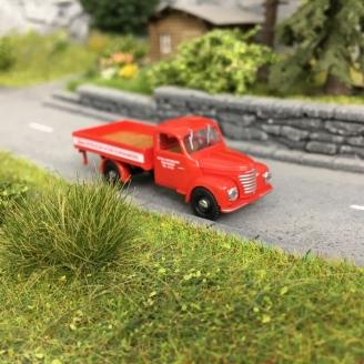 """Camion """"Esso"""" Framo V901/2 Rouge-HO 1/87-BUSCH 52305"""