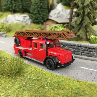 Camion Magirus DL 25h Pompiers-HO 1/87-WIKING 86233