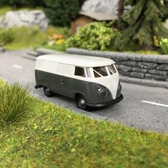 """Combi VW T1b Tolé """"Barndoor""""-HO-1/87-BREKINA 32727"""