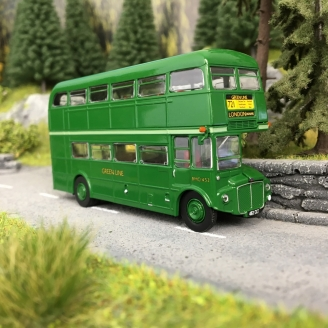 Bus AEC Routemaster, ligne verte, 1960-HO 1/87-BREKINA 61101