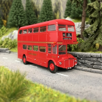 Bus AEC Routemaster, London Transport, 1960-HO 1/87-BREKINA 61100
