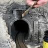 Entrée de tunnel 2 voies 64 x 37 cm - G 1/22.5 - NOCH 67360