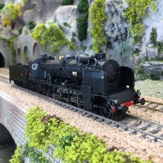 Locomotive 141 E 234 Grenoble, SNCF Ep III -HO 1/87-REE MB128