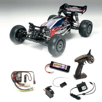 Pack Buggy Dark Impact DF03 4WD - 1/10 - TAMIYA 58370 PCK