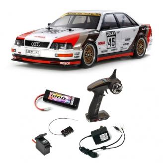 Pack Audi V8 Touring 1991 TT-02 4WD Kit - 1/10 - TAMIYA 58682 PCK