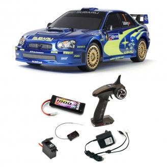 Pack Subaru Impreza Mexico 04 TT01E Kit - 1/10 - TAMIYA 47372 PCK
