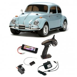 Pack VW Coccinelle / Beetle 1968 M-06 2WD - 1/10 - TAMIYA 58572 PCK