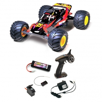 Pack Buggy Mad Bull 2WD Kit - 1/10 - TAMIYA 58205 PCK