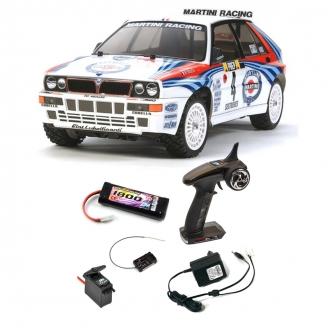 Pack Lancia Delta Integrale TT02 4WD Kit - 1/10 - TAMIYA 58570 PCK