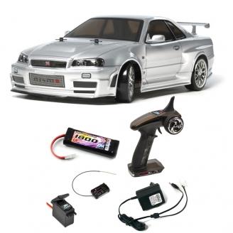 Pack Skyline GT-R (R34) Z-Tune TT02D 4WD Kit - 1/10 - TAMIYA 58605 PCK