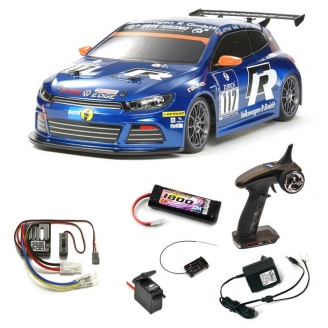 Pack VW Scirocco GT-24 CNG FF03 2WD Kit - 1/10 - TAMIYA 58505 PCK