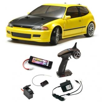 Pack Honda Civic SiR (EG6) TT02D 4WD Kit - 1/10 - TAMIYA 58637 PCK