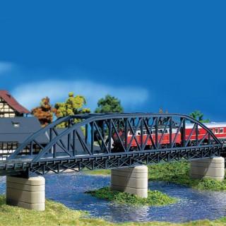 Pont droit en arc métallique-N-1/160-FALLER 222582