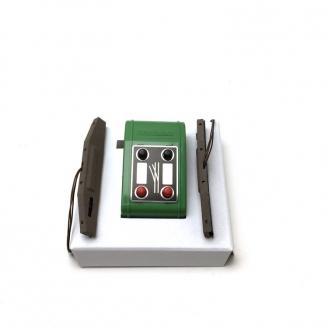 Convertisseur aiguillage manuel / électrique-N 1/160-FLEISCHMANN 919501