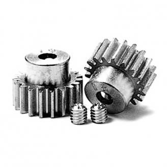 Pignons moteur 18/19T 0,6 - 1/10 - TAMIYA 50355