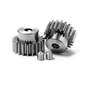 Pignons moteur 20/21T 0,6 - 1/10 - TAMIYA 50356
