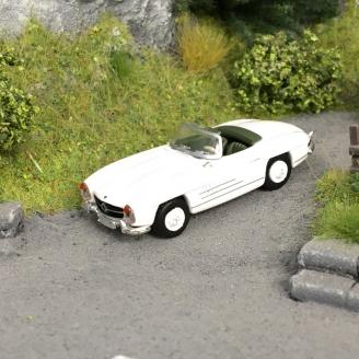 Mercedes 300 SL Roadster-HO 1/87-SCHUCO 452639400