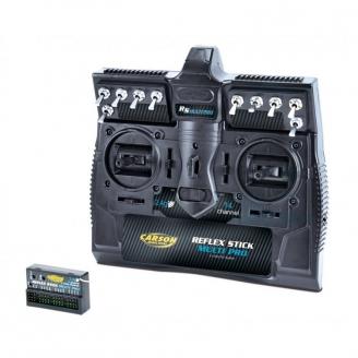 Radio 14 voies FS Reflex Stick Multi Pro 2.4G - CARSON 500501003
