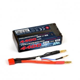 Accu Li-Po 4400 mAh HV 7.6v - T2M T1344002C
