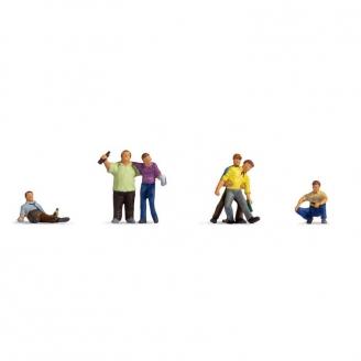 6 Hommes ivres- N 1/160-NOCH 36559