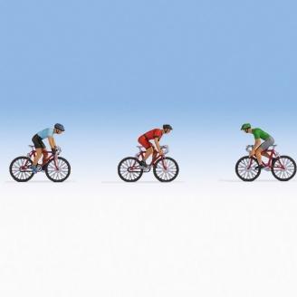 3 coureurs cyclistes - N 1/160-NOCH 36897