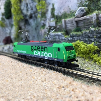 Locomotive RE 14 Green Cargo SJ Ep VI-Z 1/220-MARKLIN 88484