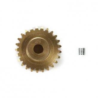 Pignon 25 dts aluminium module 0,6 - 1/10 - TAMIYA 54578