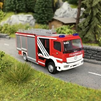 Camion de Pompiers Schlingmann Varus-HO-1/87-RIETZE 72919
