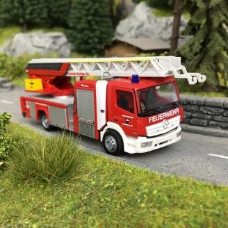 Camion de Pompiers Magirus DLK 32-HO-1/87-RIETZE 71630