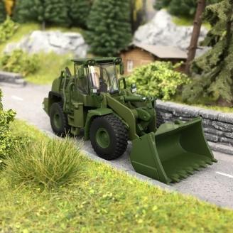 Tracteur Militaire Liebherr Radlader 550-HO 1/87-SCHUCO 452652900