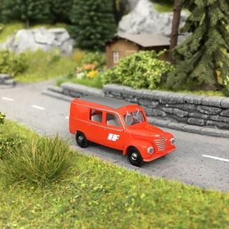 "Camionnette ""Interflug"" Framo V901/2 Rouge-HO 1/87-BUSCH 51282"