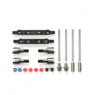 Support suspension aluminium TT02S - 1/10 - TAMIYA 54634