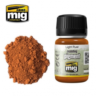 "Pigments ""Light Rust - Rouille Claire"" - AMMO 3006"